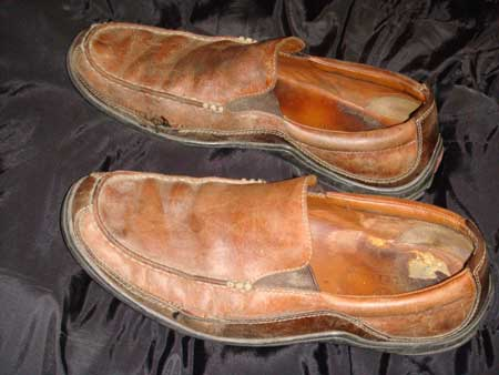 Leather unit sole for shoes